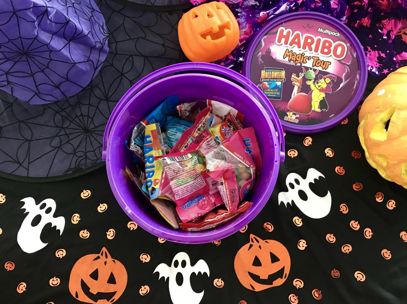 Bonbons Haribo Halloween sachets