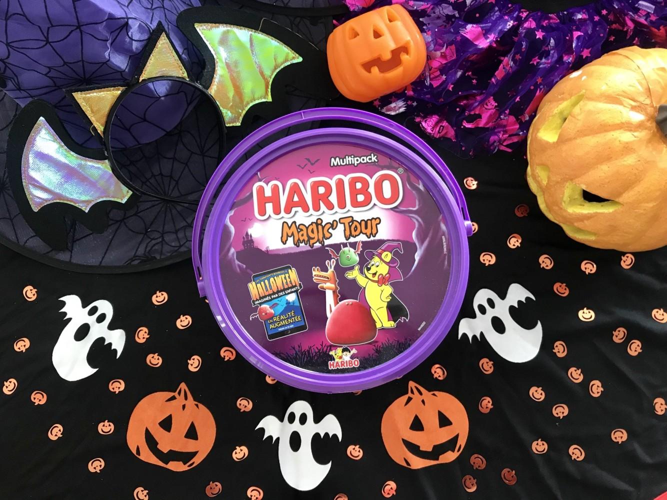 Bonbons Haribo Halloween concours