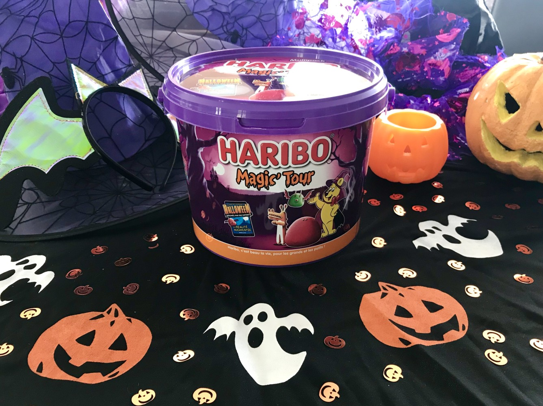 Bonbons Haribo Halloween seau