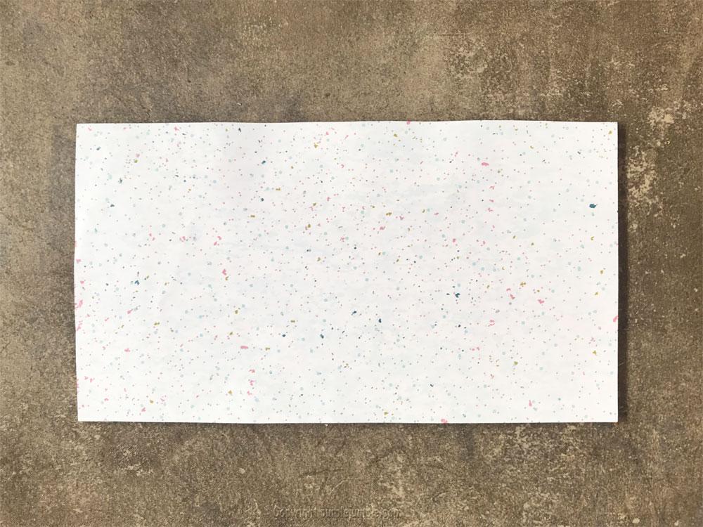 diy décor Noël papier socle