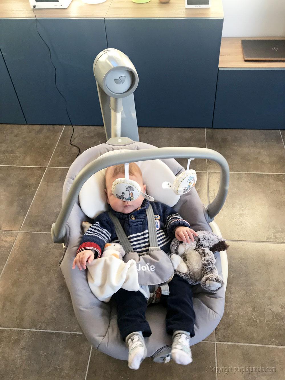 balancelle bébé serina 2 en 1 joie arche