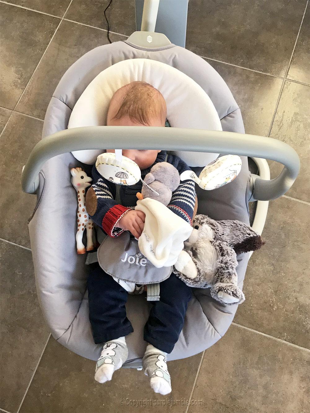 balancelle bébé serina 2 en 1 joie coussin
