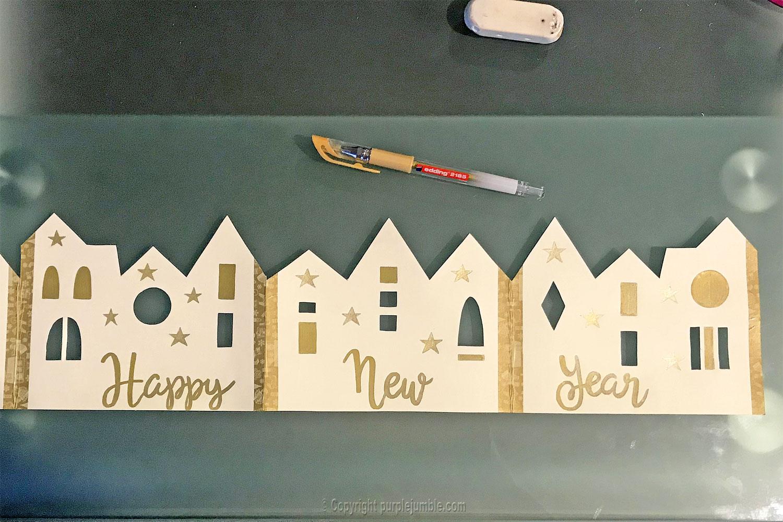 diy carte de vœux 2019 handlettering