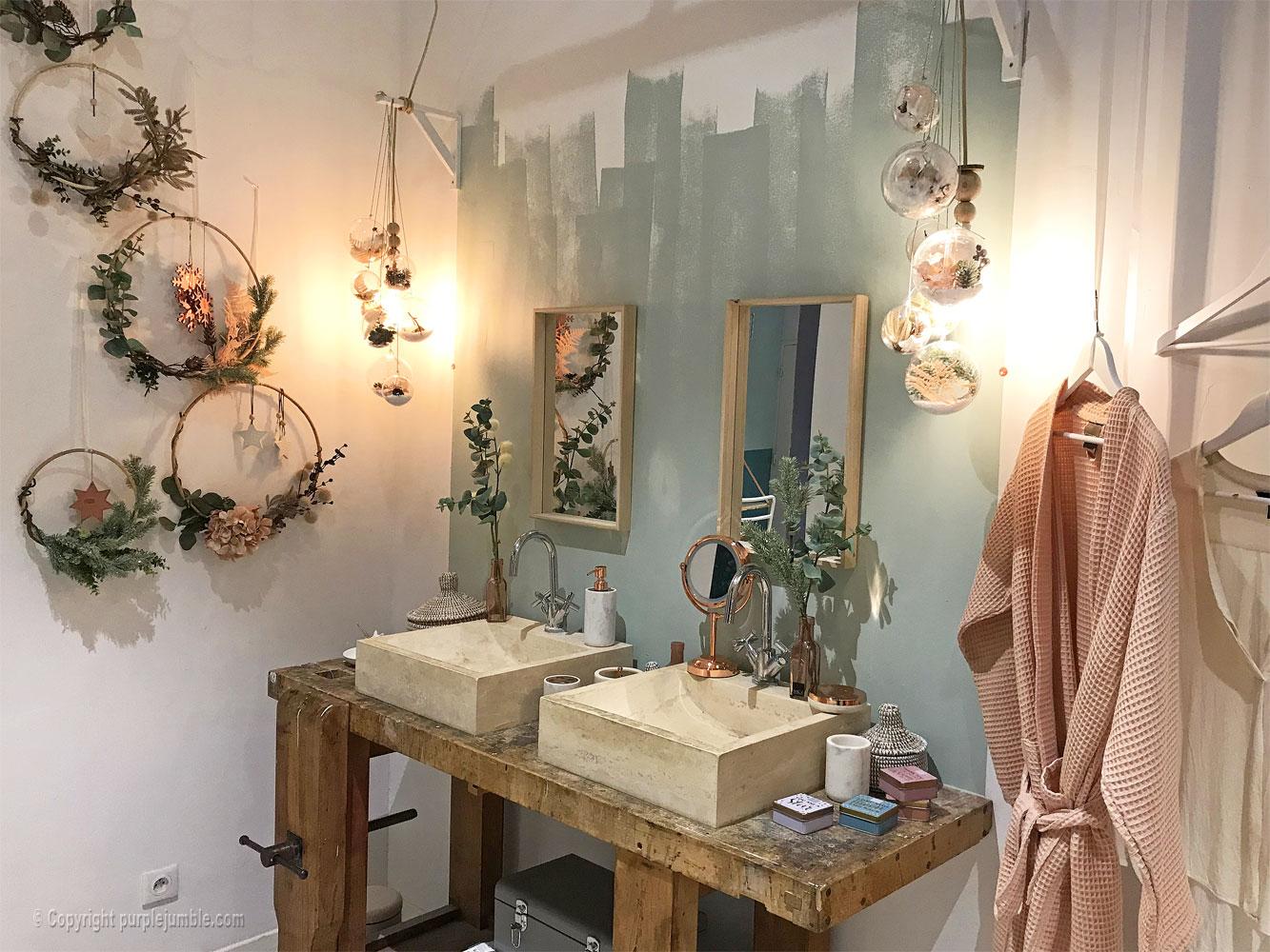 zodio noel 2018 deco maison lavabos