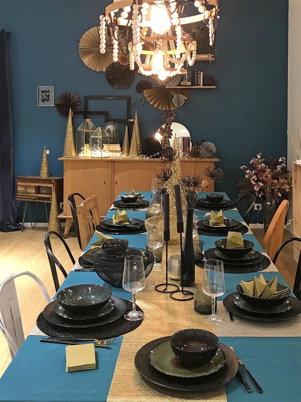 zodio noel 2018 deco maison table