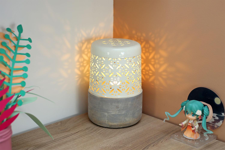partenariat pib lampe salon détail