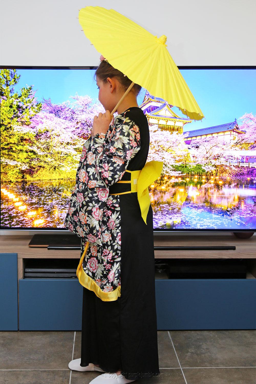 déguisement japonaise kimono