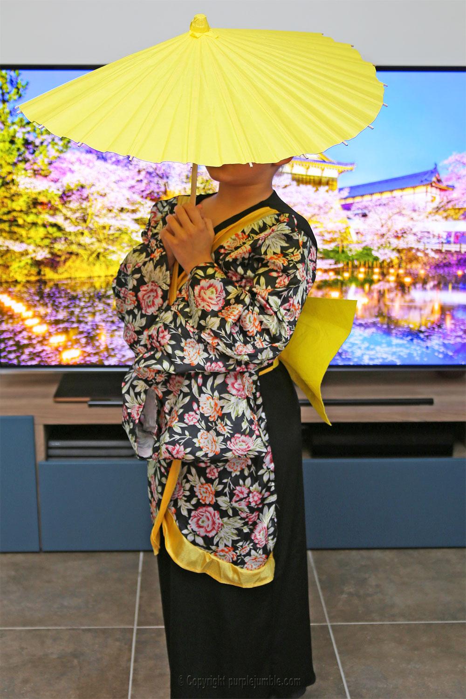 déguisement indienne ombrelle