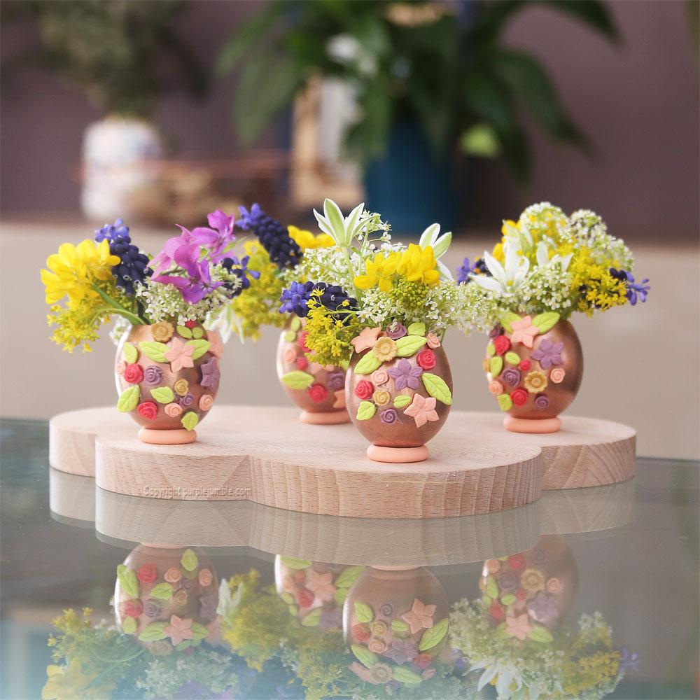 diy œufs de pâques fleurs wepam bouquets