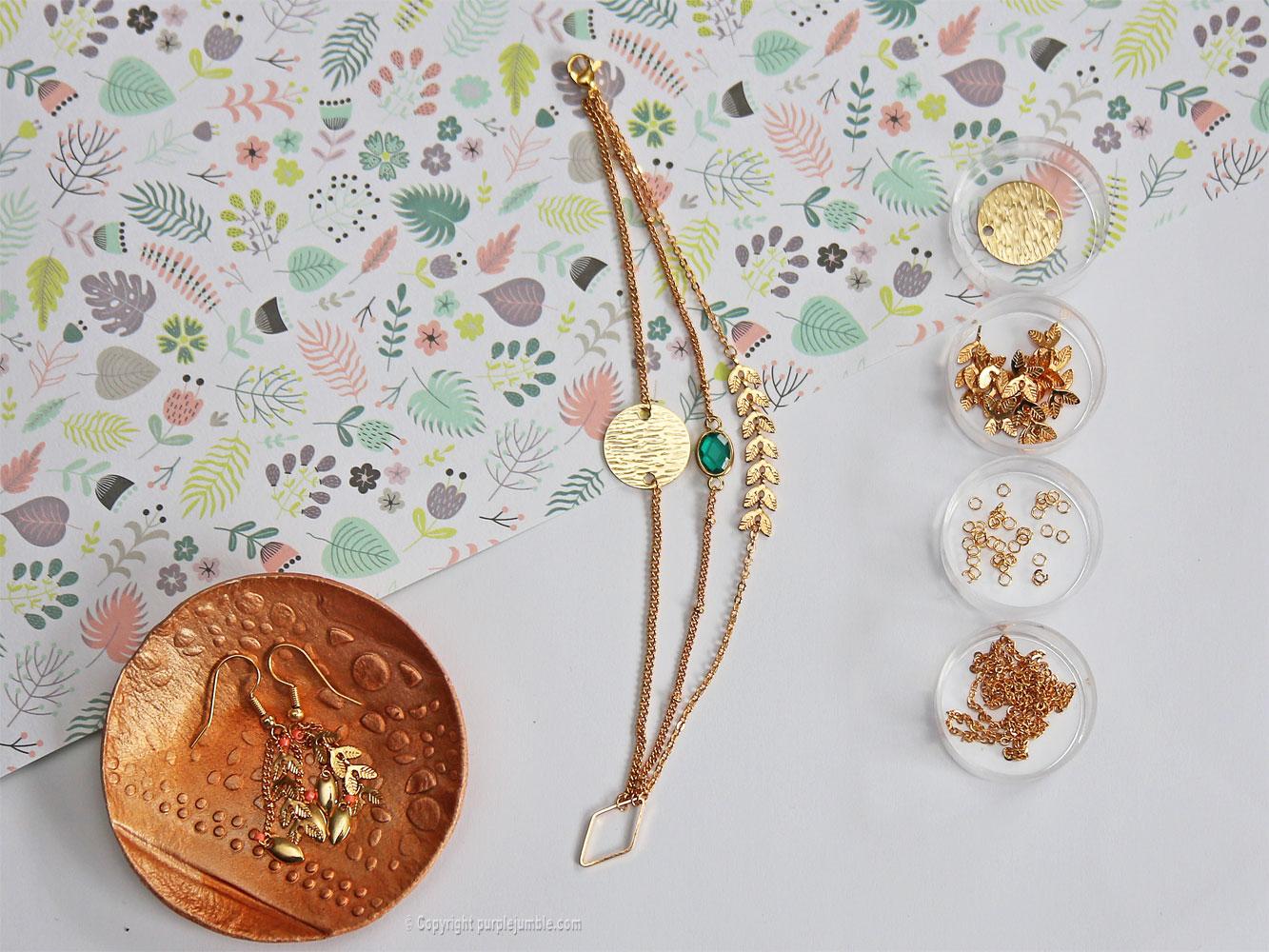 diy bijoux plaqués or chaines