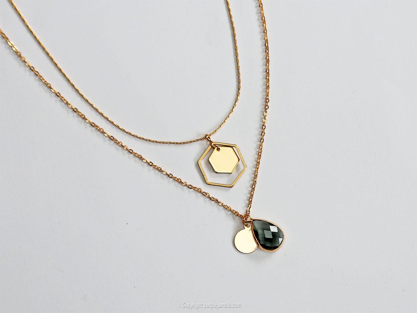 diy bijoux plaqués or pendentifs