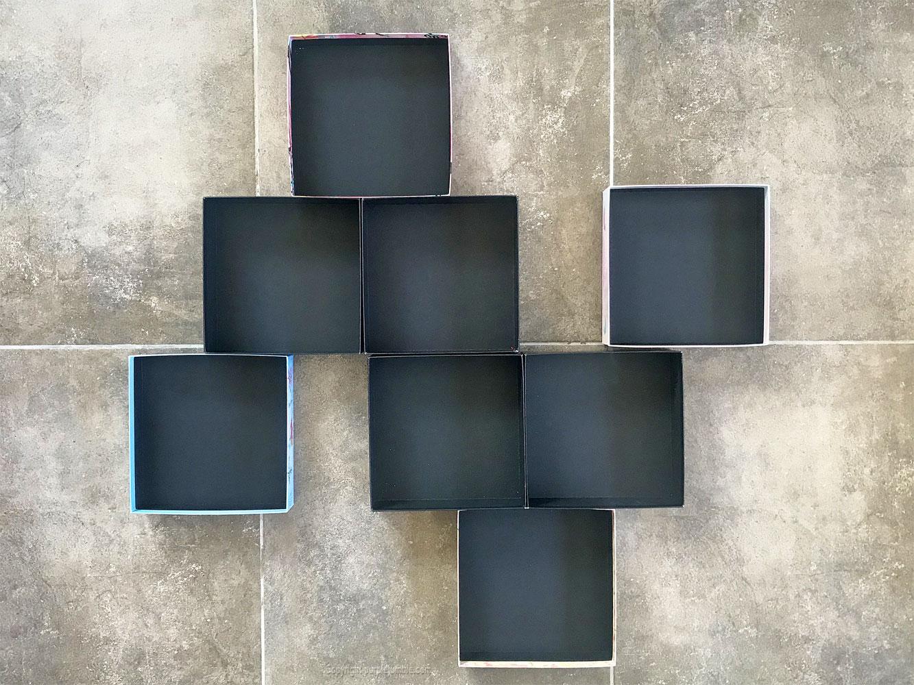 diy étagère murale recup composition