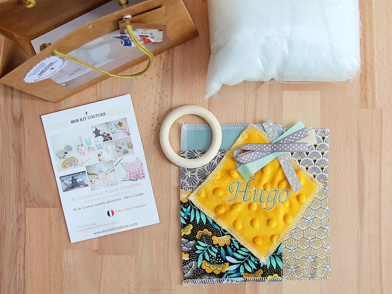 diy kit couture cube éveil matériel