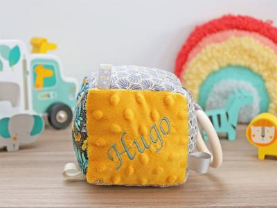 diy kit couture cube éveil fini
