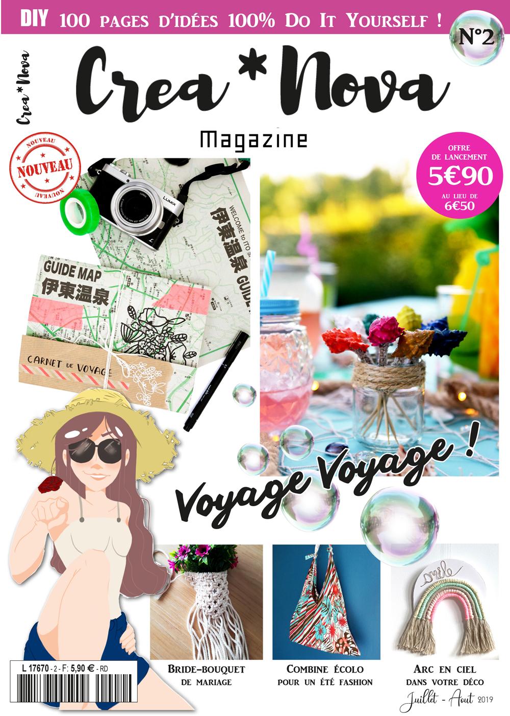 magazine creanova couverture