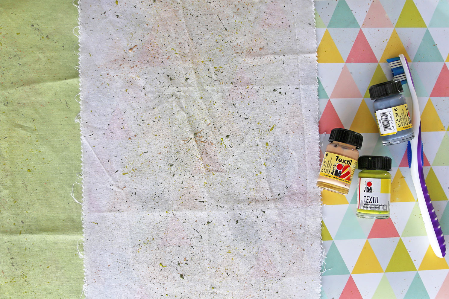diy lingettes nettoyantes camif terrazzo