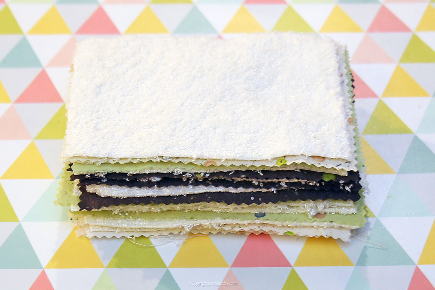diy lingettes nettoyantes camif millefeuille