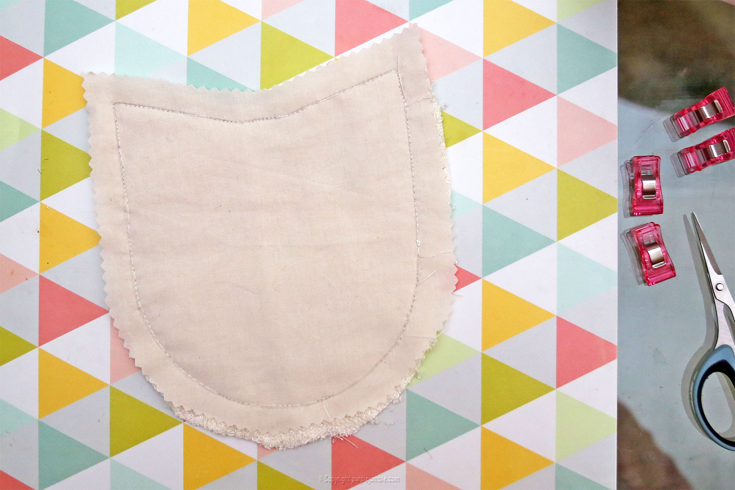 diy lingettes nettoyantes camif couture