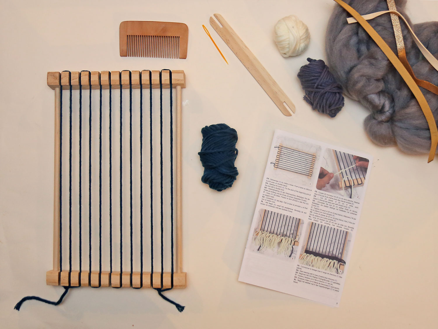 diy tissage graine creative metier a tisser