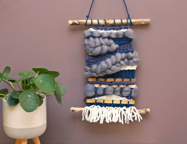 diy tissage graine creative branches