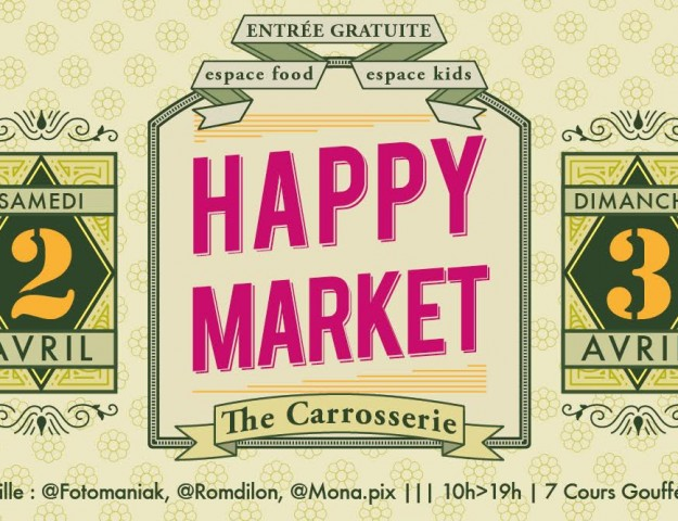 affiche happy market