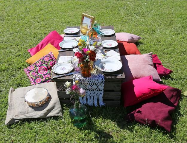 south vintage festival décoration mariage Nenette & co