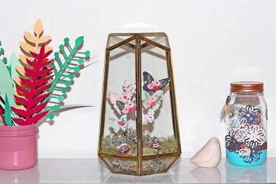 diy papillons papier terrarium matériel photo finale